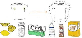 9 diy ways to remove sweat stains from clothes