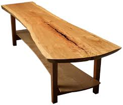 Natural edge furniture Acrylic Natural Edge Conference Sweitzer Sweitzer Natural Edge Furniture