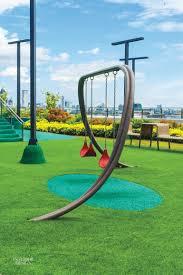 Modern Playground Design Fantastical Rooftop Playground By Kenneth Cobonpue Modern