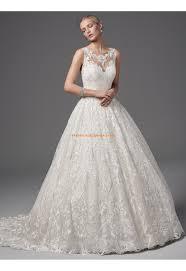 Prinzessin Glamouröse Schöne Brautkleider aus Spitze mit Schleppe