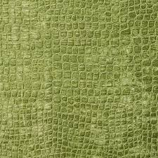 Small Picture Lime Green Alligator Print Shiny Woven Velvet Upholstery Fabric By