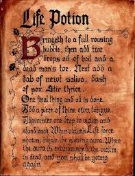 hocus pocus winifred sanderson spell book incantation life potion hocus pocus party decorating ideas
