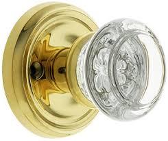 Interesting Glass Door Knobs Traditional Rosette Set With Round Inside Modern Design