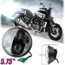 Details Of 5 75 Motorcycle Projector Led Hi Lo Beam