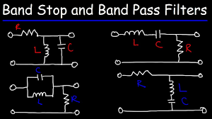 Lcr Filter Design Rlc Band Stop Filters And Band Pass Filters