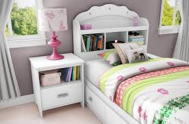 white girl bedroom furniture. Furniture: White Girls Bedroom Furniture Including Bedside Table - Kathy Ireland Girl