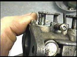 Tecumseh Carburetor Spring Repair - YouTube