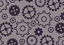 Gear Pattern Beauteous Gears Pattern Download Free Vector Art Stock Graphics Images