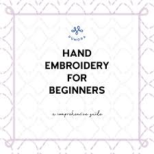 Embroidery For Beginners How To Embroider Pumora