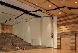 Performance Hall Design Griffin Concert Hall School Of Music Theatre And Dance
