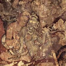 mural in ajanta caves more than 1 500 years old