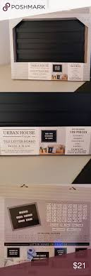 Urban House Design Letter Board Pin On My Posh Closet