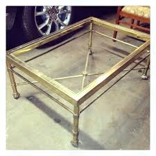 spray paint table spray paint coffee table nesting tables gold