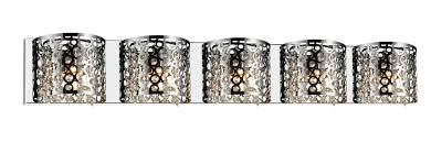 Chrome Bathroom Lighting Fixtures Enchanting 48 Light Vanity Light With Chrome Finish 484836W48STR48 Universe