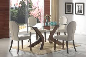 contemporary glass top dining room sets. Modern Glass Dining Room Tables Contemporary Attractive Sets Top