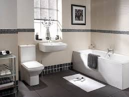 Black And White Bathroom Bathroom Tile Design Ideas Black White