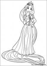 Small Picture Tangled coloring pages on Coloring Bookinfo