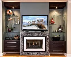 glass fireplace rocks diy doors home depot