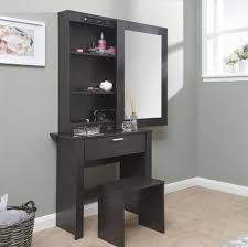 modern bedroom furniture with storage. Delighful Storage Large Dressing Table Storage Mirror Set Black Bedroom Furniture Modern  Vanity For With M