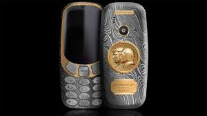 nokia 3310 unbreakable. this nokia 3310 celebrates the unbreakable bond between trump and putin e