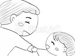 手を握る1白黒イラスト No 1095078無料イラストならイラストac