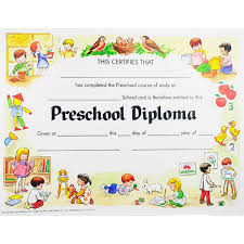 Prek Diploma Preschool Diploma School Preschool Preschool Graduation