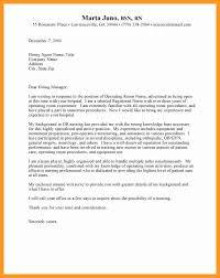 Operating Room Nurse Cover Letter Registered Nurse Cover Letter Example Capriartfilmfestival