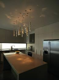track lighting modern. Track Lighting Modern V1859 With Pendants And Glass Shades On Kitchen Ceiling .