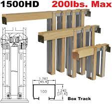 1500HD Series Pocket Door Frames | Johnsonhardware.com | Sliding ...