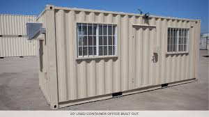 Container Office Design Mesmerizing MOBILE OFFICES LIVING SPACES CONTAINER CARGO Midstate Containers