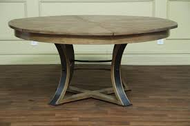 reclaimed wood dining room table radionigerialagos with regard to rustic round dining room tables