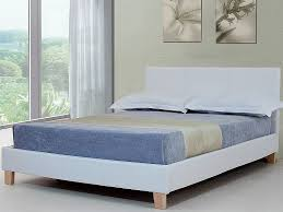 king bed frames for sale. Fine For Byron White Faux Leather Bed Frame By Sleepland Kingsize  Inside King Frames For Sale Beds