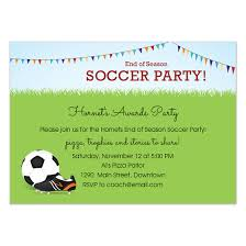 Soccer Party Invite End Of Season Soccer Party Invitations Cards On Pingg Com