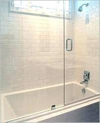 drop in tub ideas drop in tub with shower sliding glass shower doors tub a comfy
