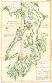 File 1867 U S Coast Survey Chart Or Map Of Puget Sound