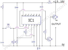 on off switch circuit diagram the wiring diagram momentary push button soft latching toggle on off switch circuit circuit diagram