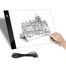 A4 Led Tracing Light Box Drawing Tattoo Art Board Intelligent