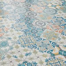 aurora 8mm ornate moroccan tile laminate flooring 47547