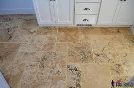 diy travertine versailles pattern tile