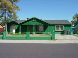 green exterior house paintGreen Exterior Paint According The Taste Home  Wall Paints