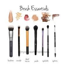 makeup brushes essentials