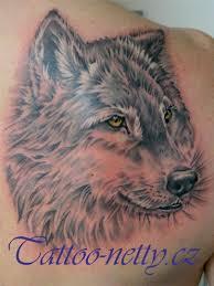 Tetování Vlk Tetování Tattoo