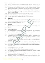 Service Agreement Samples Janitorial Contract Template Cleaning Service Agreement