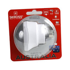Купить <b>Переходник</b> универсальный <b>Skross</b> Europe to Australia ...