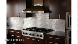 Stainless Steel Backsplash Kitchen Stainless Steel Backsplash Youtube
