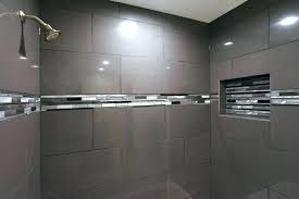 grey shower tile light grey shower tile united states gray bathroom contemporary with large mirror framed grey shower tile