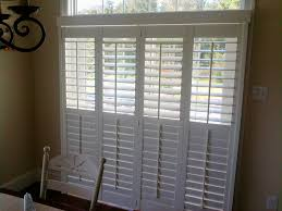 plantation shutters for sliding doors dry crafters downingtown pa 19335