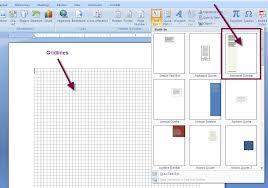 ms word 2007 sidebar text box