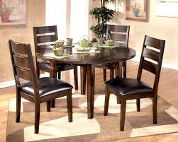 enjoyable dining table with six chairs ideas d dining table with leaf and wooden chairs with black leather cushions on carpet tiles six chair round dining