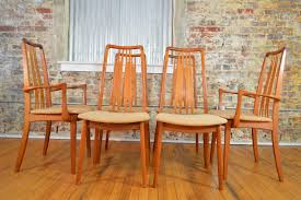 perfect danish dining chair set of six high back ander jensen style teak windsor uk melbourne